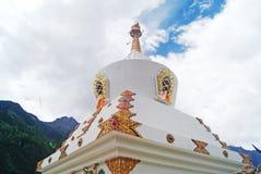 Buddhist stupa Royalty Free Stock Images