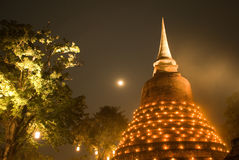 Buddhist stupa in Sukhothai Stock Photos