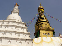Buddhist stupa Royalty Free Stock Images
