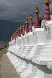 Buddhist Stupas Stock Image