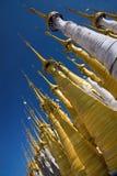 Buddhist Stupas. Indein. Royalty Free Stock Images