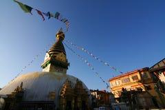 Buddhist Swayambhunath Stupa Royalty Free Stock Image