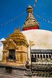Buddhist Swayambhunath Stupa, Nepal, Kathmandu Stock Image
