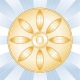 Buddhist Symbol Stock Image