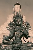 Buddhist Symbols with vintage effect. Close up of Buddhist Symbols with vintage effect Stock Image