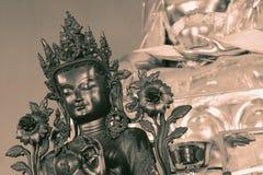 Buddhist Symbols with vintage effect. Close up of Buddhist Symbols with vintage effect Stock Photography