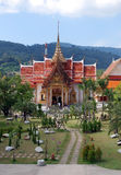 Buddhist temple in Thailand Royalty Free Stock Photo