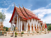 Buddhist temple. In Phuket, Thailand Stock Photo