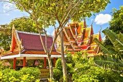 Buddhist temple. Koh Samui, Thailand Stock Photos