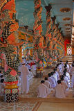 The Buddhist temple Stock Image