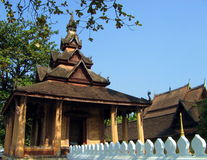 Buddhist Temple 3. An old buddhist temple in Vientiane, Laos stock photography