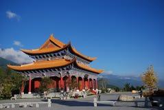 Buddhist Temple. Chongsheng Buddhist Temple,Dali,Yunnan,China Stock Photography