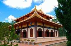 The buddhist temple Royalty Free Stock Image