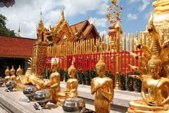 Buddhist temple. In Thailand Royalty Free Stock Images