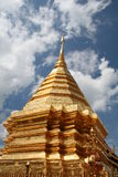 Buddhist temple. In Thailand royalty free stock photos