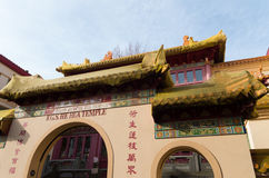 Buddhist temple in amsterdam royalty free stock photography