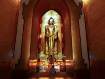 Buddhist temple, Ananda Temple, Bagan, Myanmar(Burma). Royalty Free Stock Photo