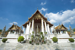 Buddhist Temple Architecture Bangkok Thailand Royalty Free Stock Photos