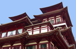 Buddhist Temple Architecture Detail Royalty Free Stock Images