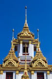 Buddhist temple art Royalty Free Stock Photography