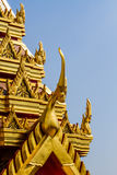 Buddhist temple art Stock Images