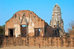 Buddhist temple in Ayutthaya Stock Photos