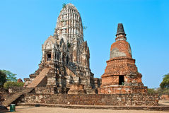 Buddhist temple in Ayutthaya Royalty Free Stock Photos