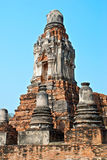 Buddhist temple in Ayutthaya Stock Image