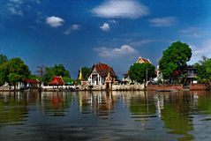 Buddhist temple in Ayutthaya Royalty Free Stock Photography