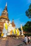 Buddhist Temple Ayutthaya Royalty Free Stock Images
