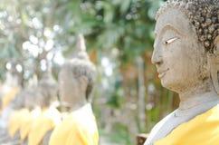 Buddhist Temple Ayutthaya. Wat Yai Chai Mongkol, Ayutthaya Historical Park, Thailand. UNESCO World Heritage Site stock image
