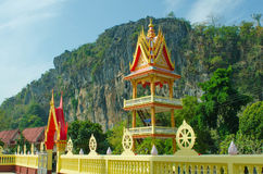 Buddhist temple on the background of nature Stock Photography