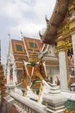 Buddhist temple in Bangkok Royalty Free Stock Photo