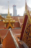 Buddhist temple in Bangkok Royalty Free Stock Photo