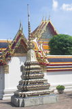 Buddhist temple in Bangkok Stock Image