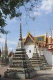 Buddhist temple in Bangkok Stock Photos