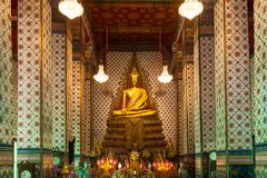 Buddhist Temple in Bangkok, Thailand Stock Image