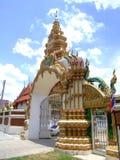 Buddhist temple, Bangkok, Thailand. Buddhist temple entrance, Bangkok, Thailand Stock Image