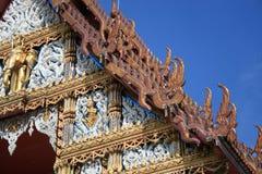 Buddhist temple, Bangkok, Thailand. Royalty Free Stock Photography