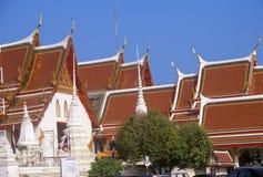 Buddhist Temple in Bangkok, Thailand Stock Photos