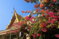 Buddhist Temple in Bangkok, Thailand Stock Photo