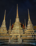 Buddhist temple in Bangkok, Thailand Royalty Free Stock Photography