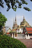Buddhist temple in Bangkok, Thailand Stock Photography