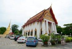Buddhist temple in Bangkok Royalty Free Stock Photos