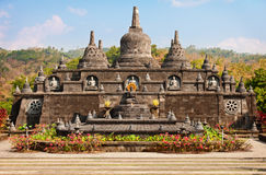 Buddhist temple - Banjar, Bali, Indonesia Royalty Free Stock Images