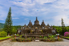Buddhist temple of Banjar - island Bali Indonesia Royalty Free Stock Images