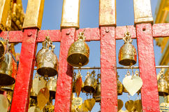 Buddhist temple bell Royalty Free Stock Photography