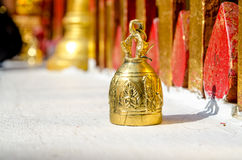 Buddhist temple bell Royalty Free Stock Photo