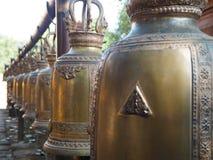 Buddhist Temple Bells Stock Photos