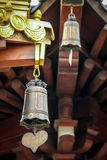 Buddhist Temple Bells - Jing An Tranquility Temple -  Shanghai, China Royalty Free Stock Photos